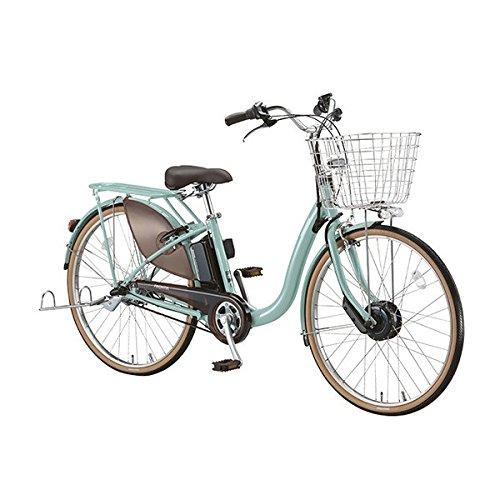 BRIDGESTONE(ブリヂストン) 18年モデル フロンティアデラックス F4DB38 24インチ 電動アシスト自転車 専用充電器付 B076STJZYPE.Xグレイッシュミント