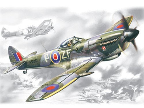 ICM Models Spitfire Mk.XVI Building Kit