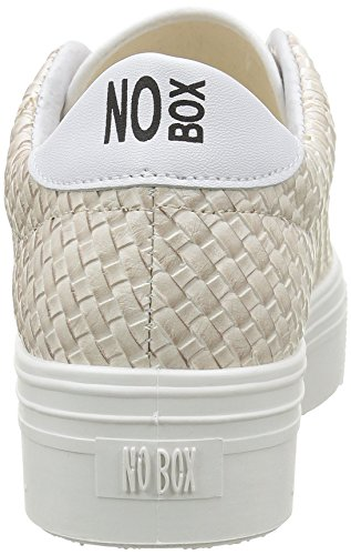 No Box Alma E16 - Zapatillas de deporte Mujer Beige