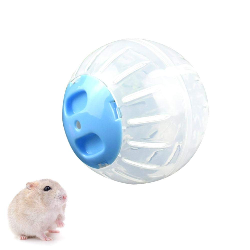 FOONEE ハムスター トラック エクササイズ ランニング おもちゃ ボール トラック トレーニング ランウェイ 小さなペット用 4ピース 6403426479605 B07H3XMS56 Blue Run-about Ball