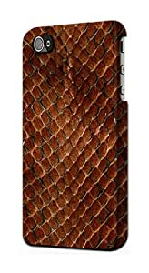 S0555 Snake Skin Graphic Printed Case Cover for Iphone 5 5s