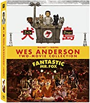 Isle of Dog & Fantasitc Mr. Fox (Blu-ray + Digital);Blank -