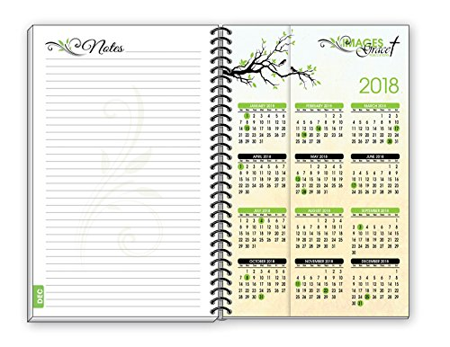 Grace Planners Branches Birds 2017 Inspirational Christian Daily Weekly Monthly Agenda Planner