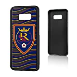 Keyscaper MLS Real Salt Lake Wave Bump Case for Galaxy S8+, Black