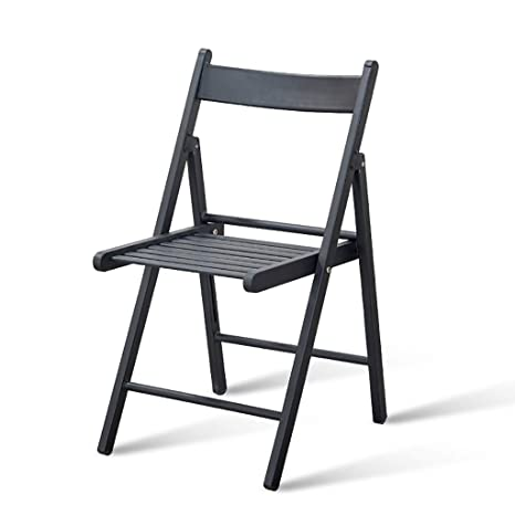 Chair QL sillones Plegables Simple Silla Plegable de Metal ...