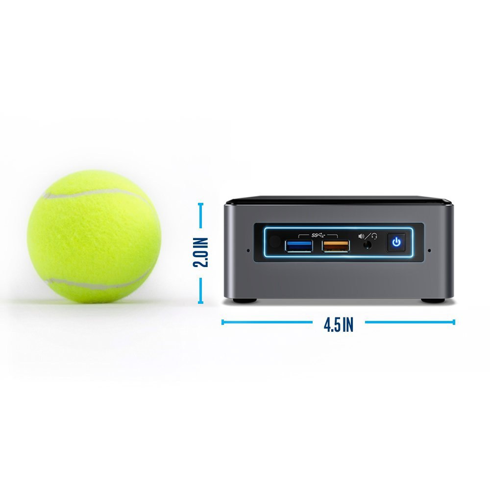 Intel BOXNUC7I5BNH NUC BABY CANYON NUC7I5BNH 2.5IN HDMI DDR4 GBE IN