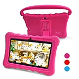 Kids Tablet,Yue Ying 7 inch Tablet for Kids,Google Android 6.0,Per-Installed iWawa APP,IPS Display Screen,1GB+8GB,Wi-Fi,Bluetooth (Pink)