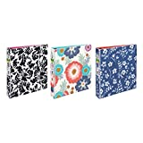 Avery Fashion View Binder with 1-1/2'' Round Rings, 275-Sheet Capacity, Design Will Vary, 1 Binder (26728)