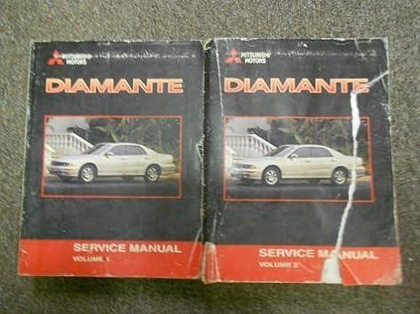2001 mitsubishi diamante service repair shop manual factory oem book rh amazon com 2002 Mitsubishi Diamante 2006 Mitsubishi Diamante