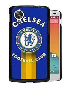 New Fashion Custom Designed Skin Case For Google Nexus 5 With Chelsea Black Phone Case 12