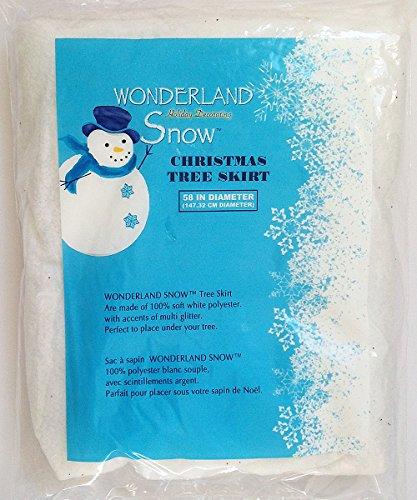 International Christmas Costumes (Winter Wonderland Holiday Decorating Snow (Christmas Tree Skirt))