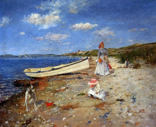 William Merritt Chase A Sunny Day at Shinnecock Bay - 20.05