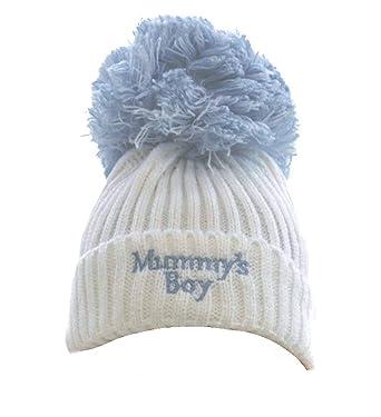 Soft Touch Mummy s Girl Boy Knitted Pom Pom Hat (Newborn to 12 Months) 942fbc58eaa