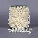 B&S FEEL 5mm Faux Pearl Beads Garland Pearl Bead