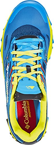 Columbia Trans Alps F.K.T. II - Calzado Hombre - Amarillo/Azul 2017