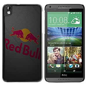 Lovely And Durable Custom Designed Case For HTC Desire 816 With New York Red Bulls 5 Black Phone Case