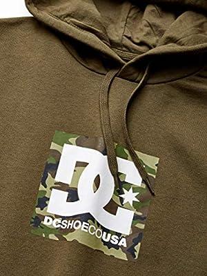 DC Mens Square Star Pullover Fleece