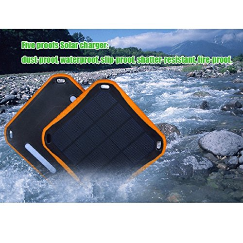 Extreme ECO Solar CAT S60 SmartPhone Window/Travel Rapid Charger Power Bank! (2.1A/5600mah) by Mobile Power (MP) (Image #2)