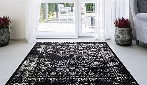 6495 Distressed Gray 8×10 Area Rug Carpet Large New