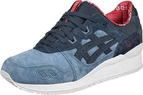 Asics H6X4L..4650 Sneakers Uomo Camoscio Blu Blu 43½