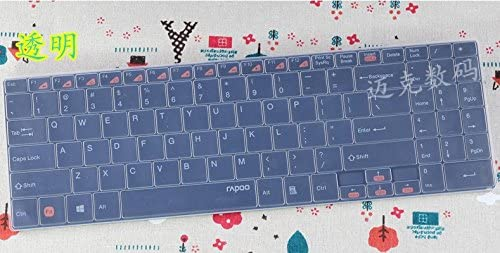 Waterproof Dustproof Transparent Silicone Keyboard Cover Protector guard for RAPOO E9060 9060 E9070 9160