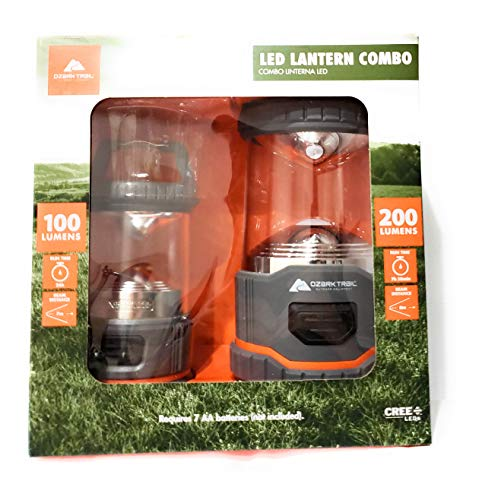 Ozark Trail led Lantern Combo