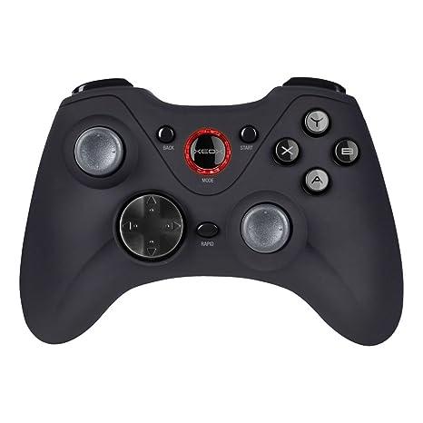 Speedlink XEOX Pro Analog Gamepad Wireless - Gaming Controller Kabellos (Intensive Vibrationseffekte - Rapid Fire Taste - Dua