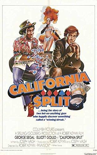 California Split Poster Movie 11x17 George Segal Elliott Gould Ann Prentiss Gwen Welles (California Split Dvd compare prices)