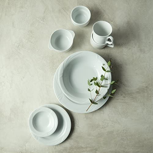 Oneida Foodservice R4510000521 Arcadia Porcelain Teacup, 7 oz, Bright White (Pack of 36)