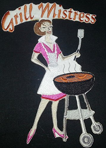 Lets go outback for BBQ [Grill Mistress] Embroidered Iron On/Sew patch [5.5 X 8]Made in USA]