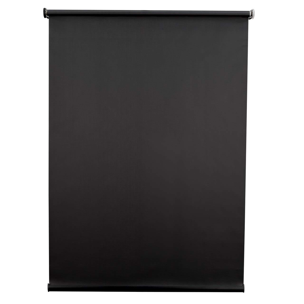 RecPro Black RV Roller Shades Blackout Window Cover for Camper and RV Blinds (32'' W x 24'' H)