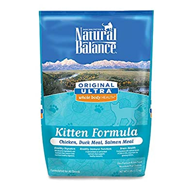 Cat Food Natural Balance Whole Body Health Dry Kitten Formula [tag]