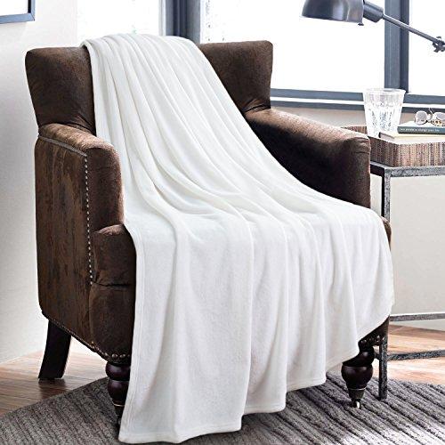 Bedsure Flannel Fleece Luxury Blanket Blankets Throws