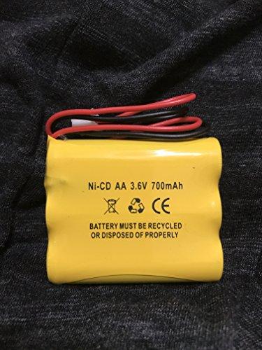3 6v 700mah 900mah Battery Exit Sign Emergency Light Lowes