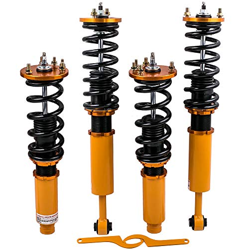 Adjustable Damper Coilovers for Honda Acura CL 2001-2003 Acura TL 1999-2003/Accord 1998-2002 Suspension Coil Spring Strut - Adjustable System Honda Suspension
