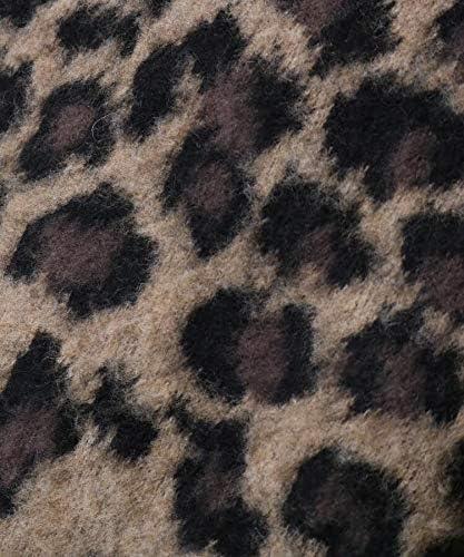 [ ティーケー タケオキクチ ] ニット スーパービッグ レオパード柄シャギーニット 17017126 メンズ
