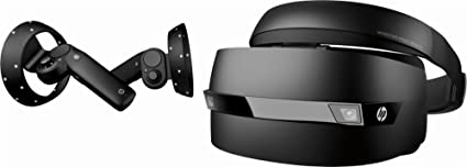 6d3ac9c9423c Amazon.com  HP - Mixed Reality Headset and Controllers (2018 New ...