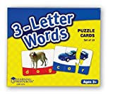 Learning Resources Threeletter Words Puzzle Cards
