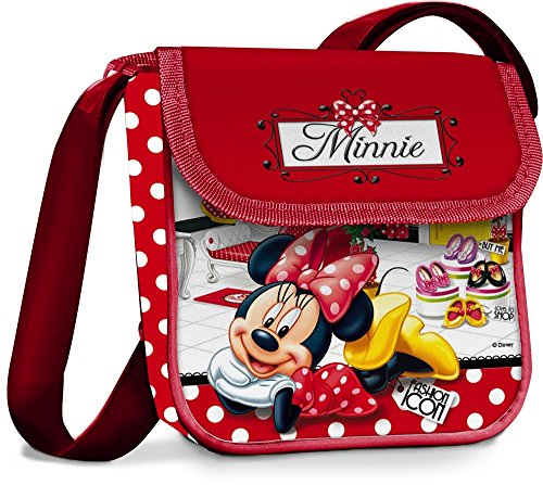 Disney 38845 Star Licensing Borsa Messenger, 17 cm, Multicolore