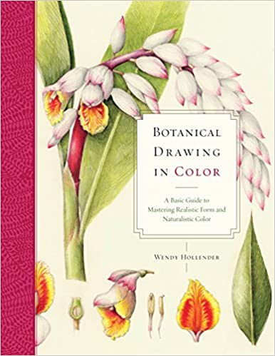 Botanical Drawing In Color A Basic Guide To Mastering Realistic Form And Naturalistic Amazonca Wendy Hollender Books