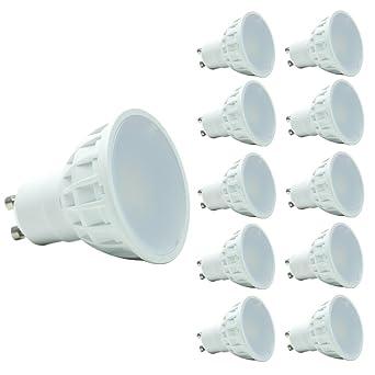 GU10 Bombillas halógenas 35-50W Equivalente,Bombillas LED Gu10 5W,Iluminación empotrada,