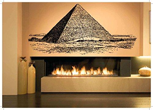 [Wall Vinyl Sticker Decals Mural Room Design Decor Art Egypt God Pyramid Pharaoh Grave Dead Mummy bo2569] (Design Wall Decor Murals)