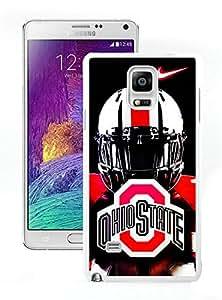 DIY,Custom Samsung Galaxy Note4 Case Design with Ohio State Buckeyes in White