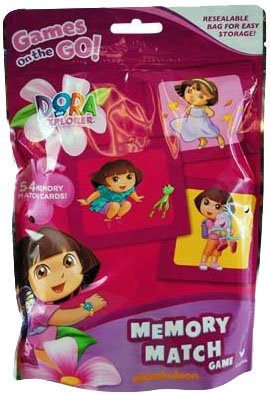 Dora The Explorer Bingo - Dora The Explorer Bingo in Foil Bag (Pack of 2), Assorted Colors
