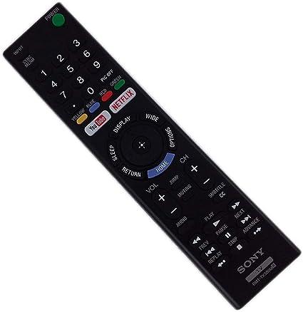 Mando a Distancia de Repuesto para televisor Sony XBR55X800E 4K Ultra HD Smart LED TV de 55 Pulgadas: Amazon.es: Electrónica