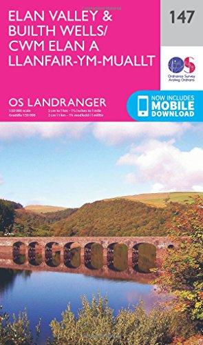 - Elan Valley & Builth Wells (OS Landranger Map)