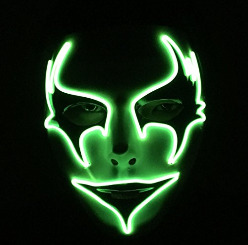 Led Light Up Mask - 8