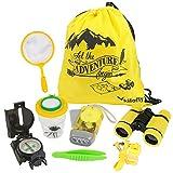kilofly 8-in-1 Kids Nature Explorer Kit Fun Backyard Bug Catching Adventure Pack