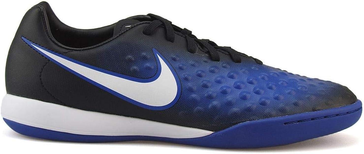 vistazo pantalones Oso polar  Amazon.com | Nike Mens Magistax Onda II IC Black/White/Paramount Blue  Soccer Shoes | Soccer