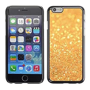 [Neutron-Star] Snap-on Series Teléfono Carcasa Funda Case Caso para Apple (4.7 inches!!!) iPhone 6 / 6S [El brillo de oro brillante brillante de Bling]